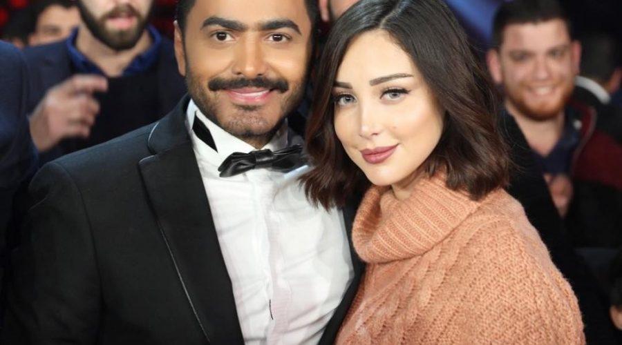 ألا تغار بسمة بوسيل على زوجها تامر حسني؟
